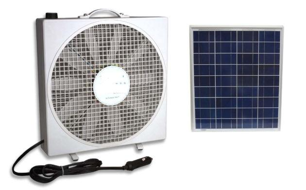 Solar Powered Portable Cooling Fan Windynation Community