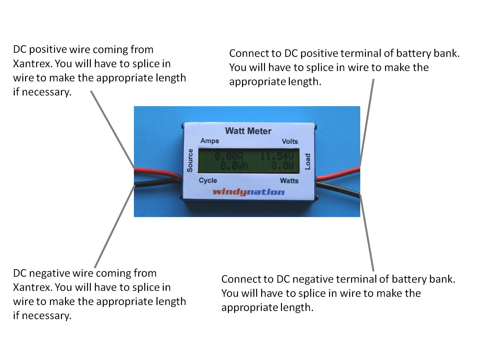 Watt Meter Question Windynation Community Forums 12 Volt Battery Bank Wiring